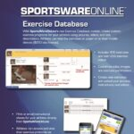 sportsware exercise database tool