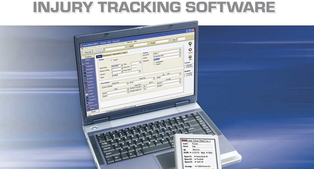 injury tracking software